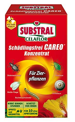 Celaflor Schädlingsfrei Careo Konzentrat, vollsystemisches Mittel mit schneller Wirkung gegen Schädlinge an Pflanzen, 100 ml