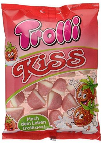 Trolli Kiss Schaumerdbeeren, 18er Pack (18 x 200 g)