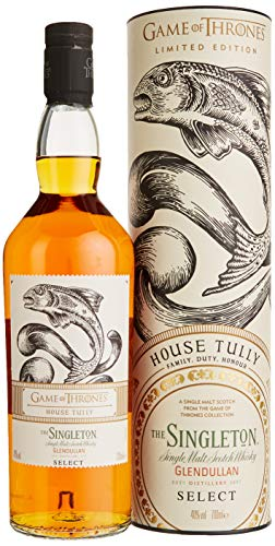 The Singleton of Glendullan Select Single Malt Scotch Whisky - Haus Tully Game of Thrones Limitierte Edition (1 x 0.7 l)