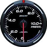 日本精機 Defi (デフィ) メーター【Racer Gauge】60φ 圧力計 (ホワイト) DF11606