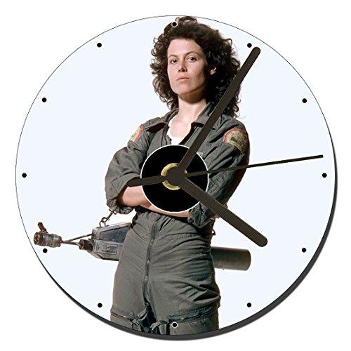 MasTazas Alien Sigourney Weaver Ellen Ripley Reloj CD Clock 12cm