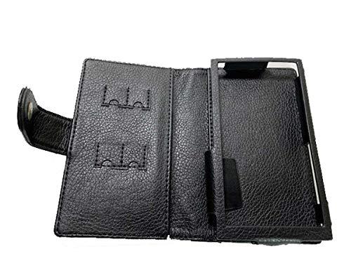 TUFF LUV Leder Ledertasche Hülle Tasche Für Fiio M11 / M11 Pro - Schwarz