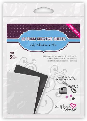 Scrapbook Adhesives Donna Salazar par 3L sans Acide adhésif Décoration 3D en Mousse Touches