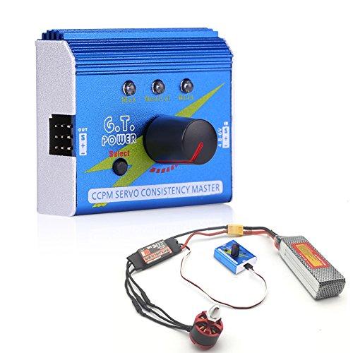 Motor Servo Tester Multifunktions ESC-Master Drehzahlregler Motor Checker