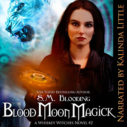 Blood Moon Magick audiobook cover art