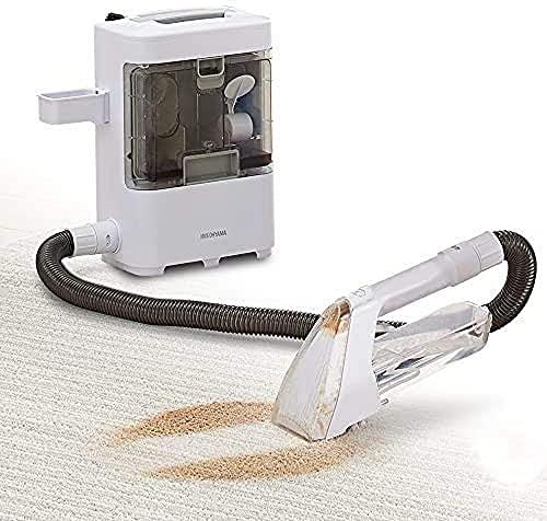 アイリスオーヤマ リンサークリーナー 染み抜き 布製品洗浄機 水と空気の力で汚れを吸い取る 温水対応 コン...