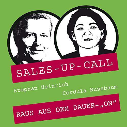 "Raus aus dem Dauer-""ON"" audiobook cover art"