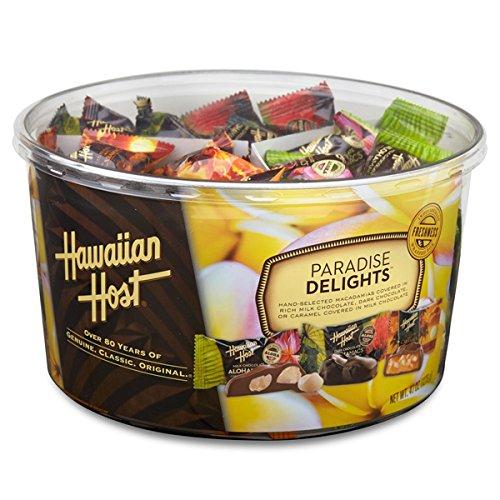 (ハワイアンホースト) マカダミアナッツチョコレート パラダイスディライト 詰め合わせ 1276g