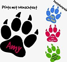 Suchergebnis Auf Für Autoaufkleber Hundepfoten