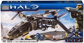 Megabloks Halo UNSC Falcon with Landing Pad