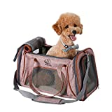 Louvra Capazo del Perro Portador del Perro Bolsa del Perro para Viaje que Se Permite para Aerolínea, hasta 6kg
