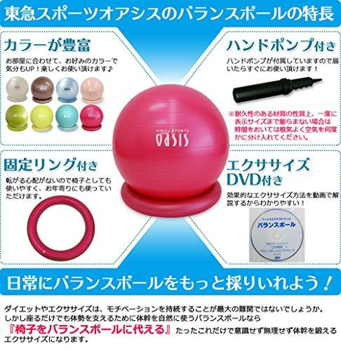 東急スポーツオアシス『バランスボール55cm究極セット』