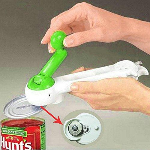 7 In 1 One Touch Kitchen Can Opener Bottle Jar Do As Seen On TV Knife Slicker EA