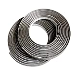 Instatrim 1/2 Inch (Covers 1/4' Gap) Flexible, Self-Adhesive, Caulk and Trim Strips for Floors, Ceilings, Countertops and More (Gray, 10ft Long, 2 Pack)