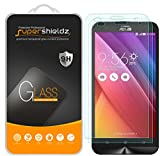 (2 Pack) Supershieldz Designed for Asus (ZenFone 2 Laser) 5.5 inch (ZE550KL, ZE551KL) Tempered Glass Screen Protector, Anti Scratch, Bubble Free