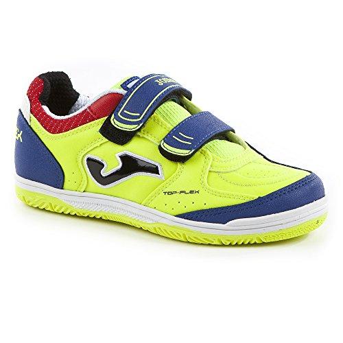 JOMA- Chaussure de foot en salle Jr Top Flex Solar yellow Taille 34