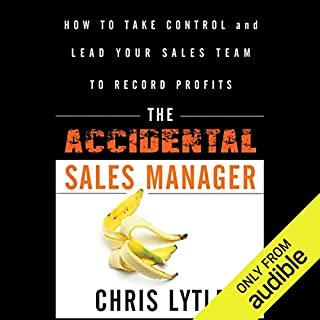 The Accidental Sales Manager audiobook cover art