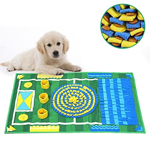 YOUTHINK Sniffing Mat, Tappetino Olfattivo Cane, Tappeto Cane Giochi intelligenza, Giochi interattivi per Cani Gatti, Antiscivolo e Lavabile in Lavatrice, Rilascio dello Stress(39.4'' x 26'')