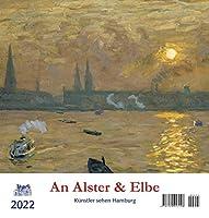 An Alster und Elbe 2022 Postkartenkalender: Kuenstler sehen Hamburg