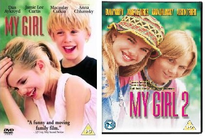 My Girl All Films Part 1 + Part 2 (2 Discs) DVD Complete 2 Movies Collection + Extras