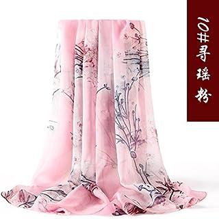 FLYRCX Ladies Silk Silk Scarves Summer Sun Protection Shawls 190cmx110cm Clothing Accessories Scarves