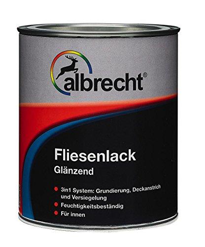 Albrecht Fliesenlack weiß glänzend 750ml