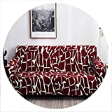 Universal Elastic Sofa Cover Tight wrap All Inclusive Slip Resistant Sofa Cover Elastic Sofa Towel Single/Two/Three/Four Seater,13,Two seat Sofa