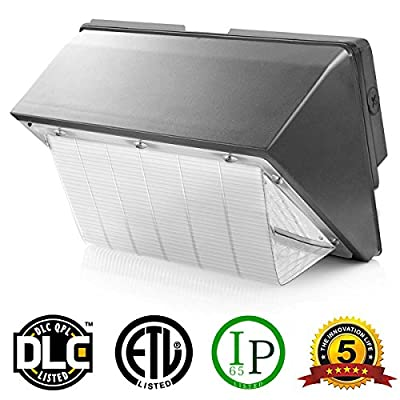 YR LED LIGHT 15W LED Wall Pack Light Fixtures,80-120 HPS/HID Replacement,Lumens 1500 (5000K),20 Pcs 3030 LEDs,Security Lights for Outdoor Garden Driveway Parking Lot