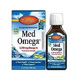 Carlson Med Omega, Lemon-Lime, 2,700 mg Omega-3s, 100 mL