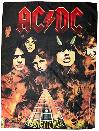 AC/DC Highway to Hell / Flames Posterflagge
