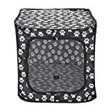 Gazechimp Large Soft-Sided Comfort Pet Dog Cat Travel Carrier Tote Bag Travel Kennel Crate