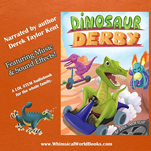 Dinosaur Derby  By  cover art