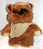 "1983 Vintage Star Wars Return of the Jedi Plush 14"" Wicket the Ewok Doll with Hooded Cape"