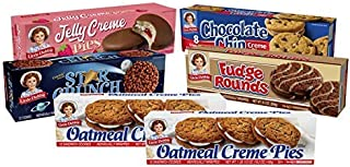 Little Debbie Cookie Variety Pack, 2 Boxes Of Oatmeal Creme Pies, 1 Box Of Fudge Rounds, 1 Box Of Chocolate Chip Creme Pie...