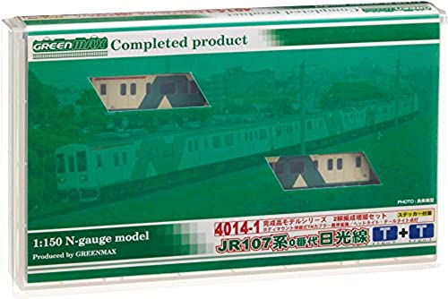 JR Series 107-0 Nikko Line (Add-on 2-car Set) (Model Train)