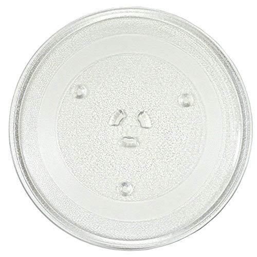 irkaja Microwave Oven Replacement Turntable/Rotating/Baking Glass Tray/Plate (Diameter: 255mm / 10