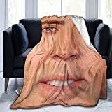 Soft And Warm Throw Blanket Nicholas_Cage Ultra-Soft Micro Fleece Blanket For Couch Bed Living Room(50'' X40,60 X50,80 X60)