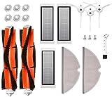 APLUSTECH Recambios para Roborock S50 S51 S55 S5 S6 - Accesorios para Xiaomi MI Mijia Robot Aspiradora - Cepillo Principal, Cepillo Lateral, Filtro HEPA y Mopa.