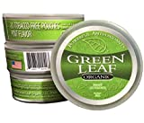 Green Leaf Organic - Tobacco Free Chew Pouches Cool Mint Flavor - Includes Turmeric Root Powder & Baking Soda - Tobacco Free Chew Pouches Made in The USA - 3 Packs of 20 Nicotine Free Dip Pouches