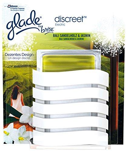 Glade by Brise discreet Bali Sandelholz & Jasmin, Original (Duftstecker inkl. Gel-Pad) - 1St.
