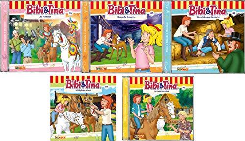 Bibi & Tina - Hörspiel zur Zeichentrick TV - Serie CD 86-90 im Set - Deutsche Originalware [5 CDs]