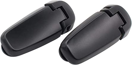 NewYall Rear Left Driver & Right Passenger Liftgate Tailgate Window Glass Hinges