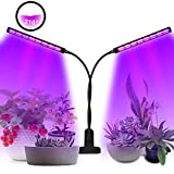 SKEY LED pflanzenlampe, 96 LEDs Grow Lampe dimmbar Pflanzenlicht Vollesspektrum Pflanzen Wachstumslampe mit Timing Wachstumslampe, 3 Timer 3/6/12H Zimmerpflanzen