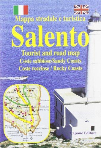 Salento. Mappa stradale e turistica. Tourist and road map