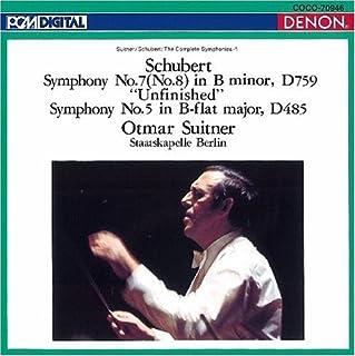 シューベルト:交響曲第7番「未完成」&第5番