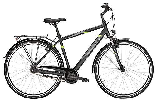ZEG Pegasus Avanti 7 Herrenfahrrad 7 Gang Cityrad 2020, Farbe:schwarz, Rahmenhöhe:58 cm