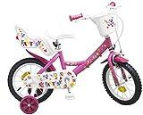 Toimsa 14 ZOLL Kinderfahrrad Mädchenfahrrad Kinder Kinderrad Fahrrad Rad Bike SWEET FANTASY