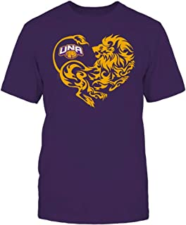 FanPrint North Alabama Lions T-Shirt - Lion Heart