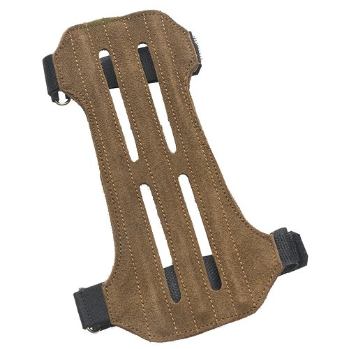 OMP Mountain Man 2-Strap Ventilated Leather Suede Arm Guard