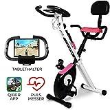 Miweba Sports Indoor Xycling X-Bike Fitnessbike - 3 Kg Schwungmasse - Pulsmessung - 8...
